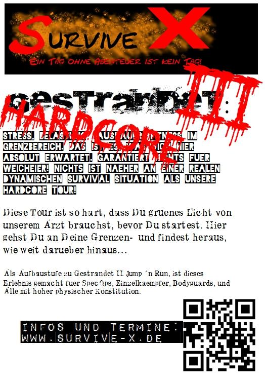 "Survivalevent: ""Gestrandet III"" (Hardcore)"